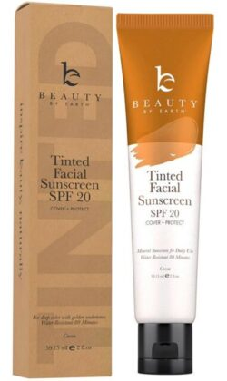 BEAUTY BY EARTH TINTED SUNSCREEN FOR FACE