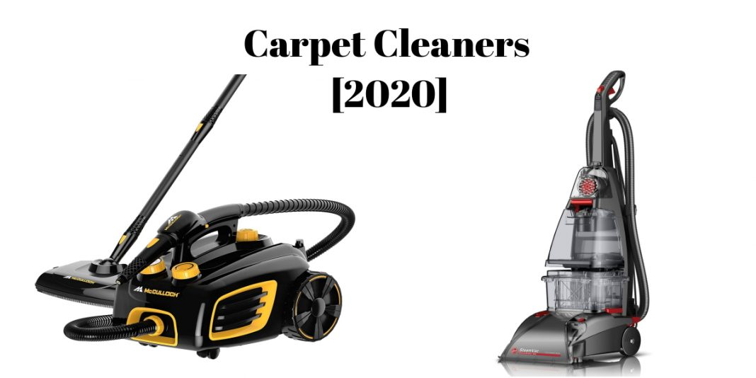 BEST STEAM CARPET CLEANERS OF 2021 – TOP 10 REVIEWED