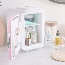 Cooluli Mini Fridge Electric Cooler and Warmer for Makeup