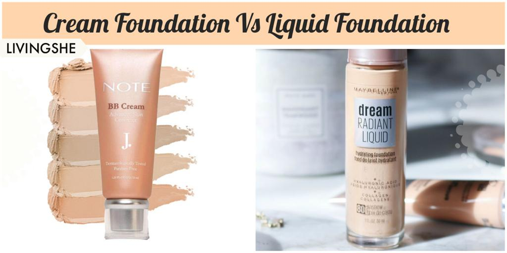 LIQUID FOUNDATION VS. CREAM FOUNDATION (WHICH ONE IS BEST TO USE AND WHY)