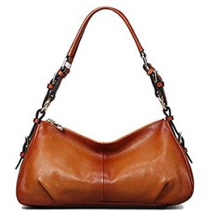 Kattee Soft Leather Hobo Purse