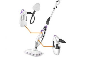 LIGHT 'N' EASY All-in-One Mop Cleaning Steamer