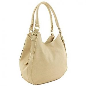 Light-weight Faux Leather Medium Hobo Bag