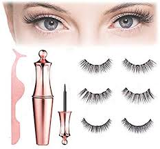 Magnetic Eyeliner and Eyelashes Kit With Reusable Lashes [5 Pairs]
