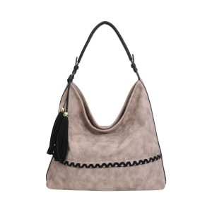 Realer Hobo Handbags with Tassel