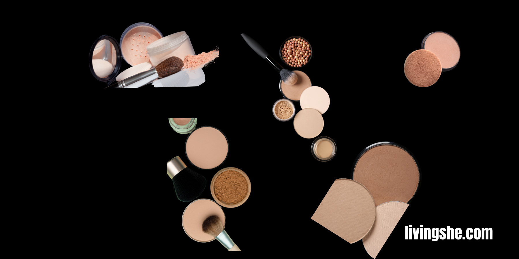 HOW TO USE COMPACT POWDER WITH FOUNDATION